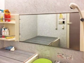 浴室鏡を交換したY様の事例