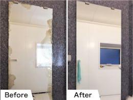 浴室鏡を交換したM.M様の事例