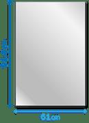 61cm×91.4cm