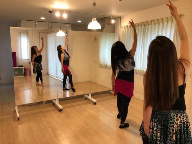 ベリーダンス スタジオ A様の使用事例