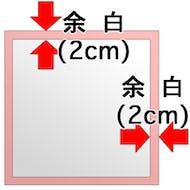 サイズの表示